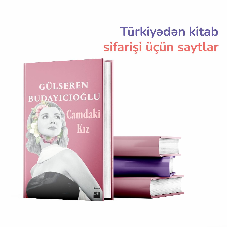 Türkiyədən kitab sifarişi üçün saytlar