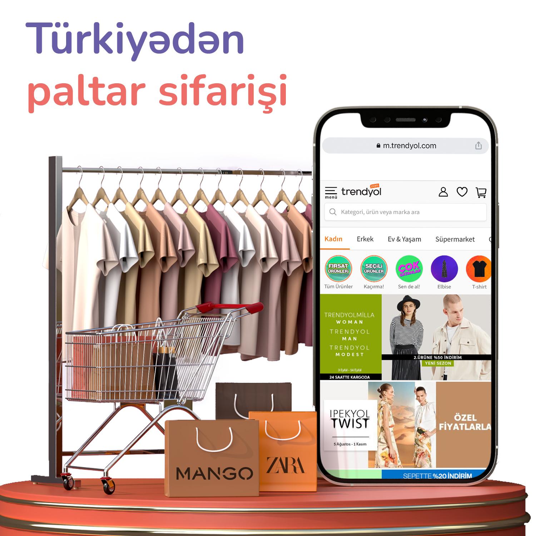 Türkiyədən paltar sifarişi
